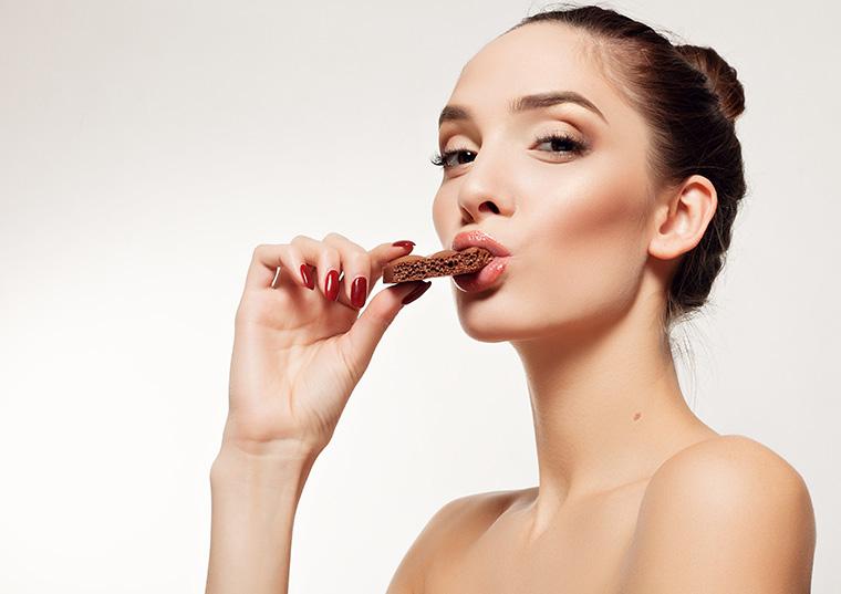 チョコ美容健康