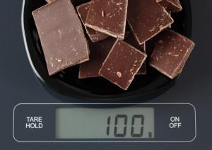チョコ摂取量
