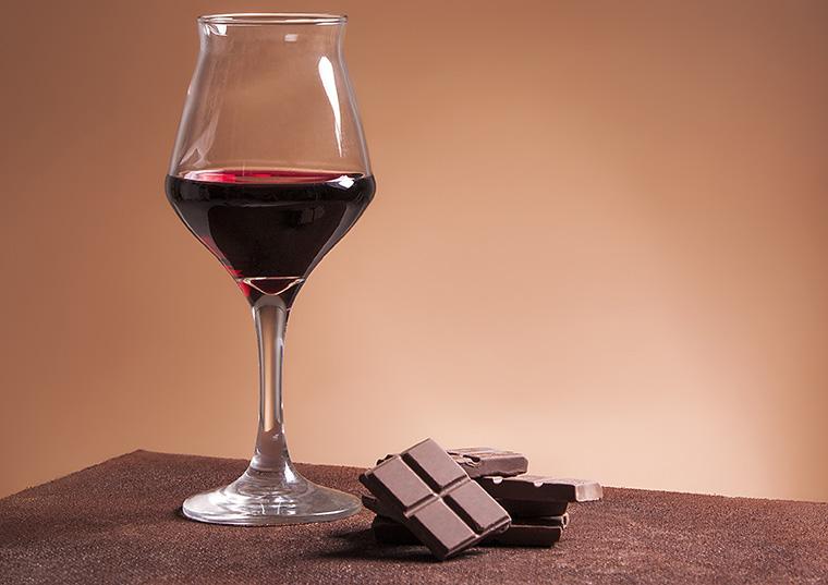 チョコとワイン