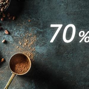 カカオ70%以上のチョコレートとは